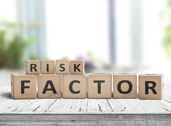 Risk Factors on letters
